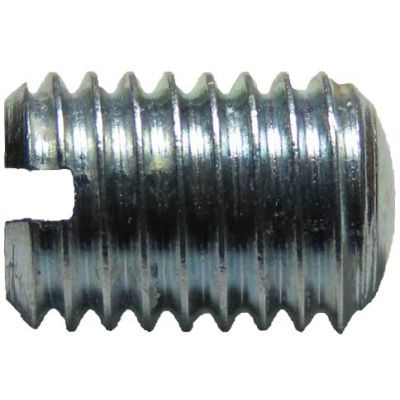 11489 (500pcs) - 1/4-28 X 3/8 Slotted Steel Set Screw