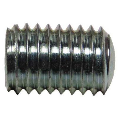 15717 (500pcs) - 1/4-28 X 3/8 Slotted Steel Set Screw