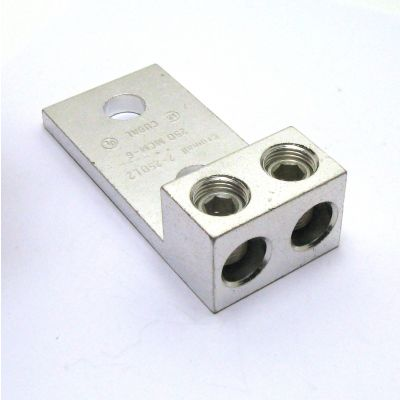 2-250L2 Double Barrel Wire Panelboard Lugs (6 AWG- 250 kcmil (4/0 AWG)
