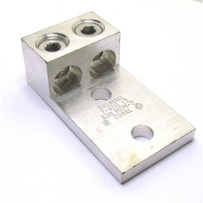 2-600L2 NEMA Double Wire Panel Lug (2 - 600kcmil AWG)