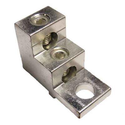2S2/0-TP-STK2-W-44-50-HEX (2/0-14 AWG) Dual Wire Stacker Lug