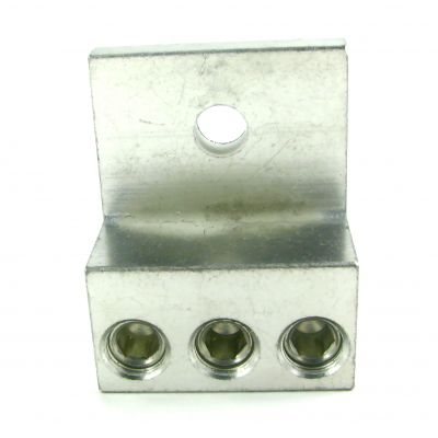 3S250TP Triple Barrel Wire Lugs Turn Prevent Rib (250 kcmil (4/0 AWG)-6 AWG)