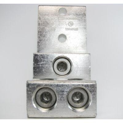 """600T-3"" (2 - 600kcmil AWG) Triple Wire Lug"