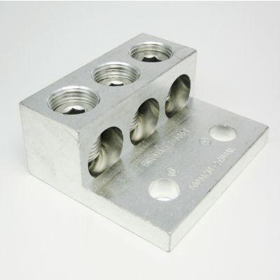 """3-600T"" (2 - 600kcmil AWG) Triple Wire Lug"
