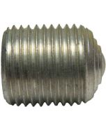 13571 (100pcs) - 5/8-18 X .75 Hex Socket Aluminum Set Screw