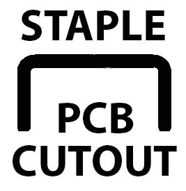 Click for Staple Cutout